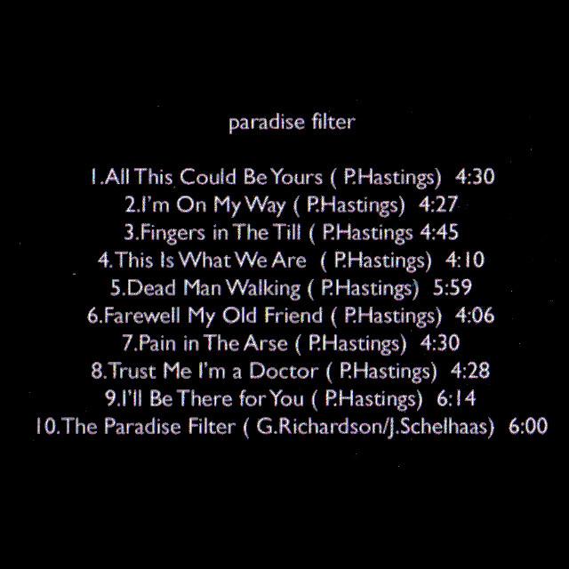 2013-Paradise Filter – track list 640×640