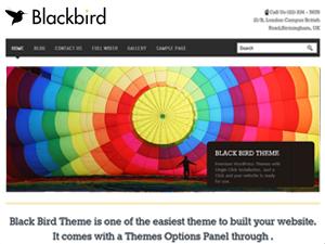 nivoblackbird – FREE WordPress theme